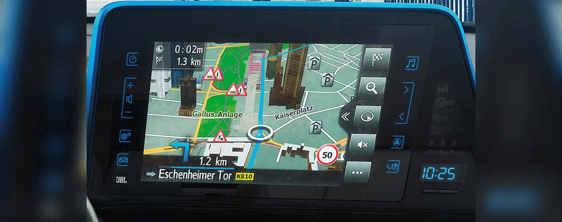 NAVIGATIONSSYSTEM Toyota Touch2&Go Plus*